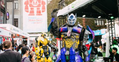 The Future Is Full Of Bright Ideas + Big Robots At Maker Faire Shanghai 2021