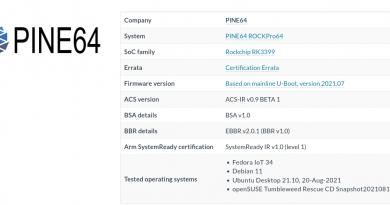 Raspberry Pi 4, Rockchip RK3399 SBC's get Arm SystemReady IR certification